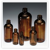 Bottles, Glass Narrow Mouth